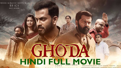 Ghoda 2017 Movie Hindi Dubbed 480p HDRip [600MB]