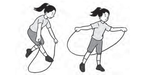 Latihan Gerakan Lompat Tali Perorangan Dalam Senam Irama ...