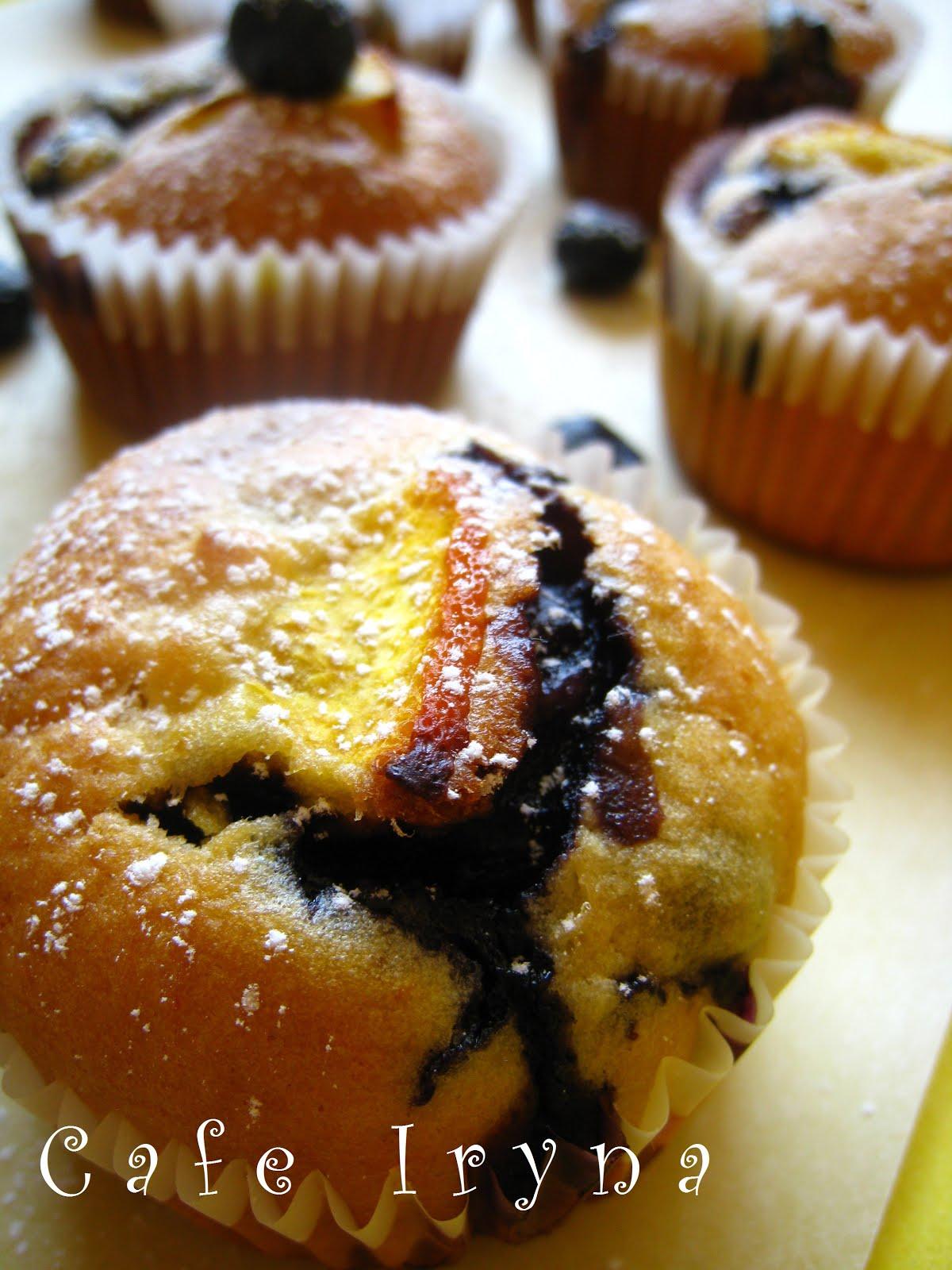 Кексы с черникой рецепт с фото