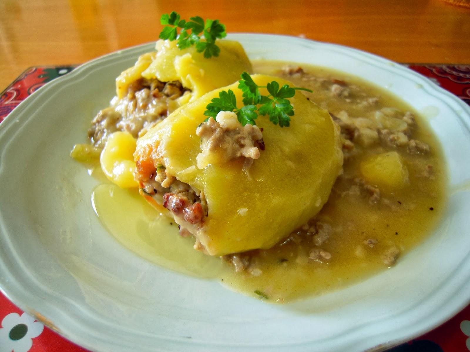 El placer de cocinar patatas rellenas for Cocinar patatas rellenas