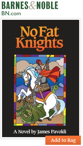 No Fat Knights at Barnes & Noble