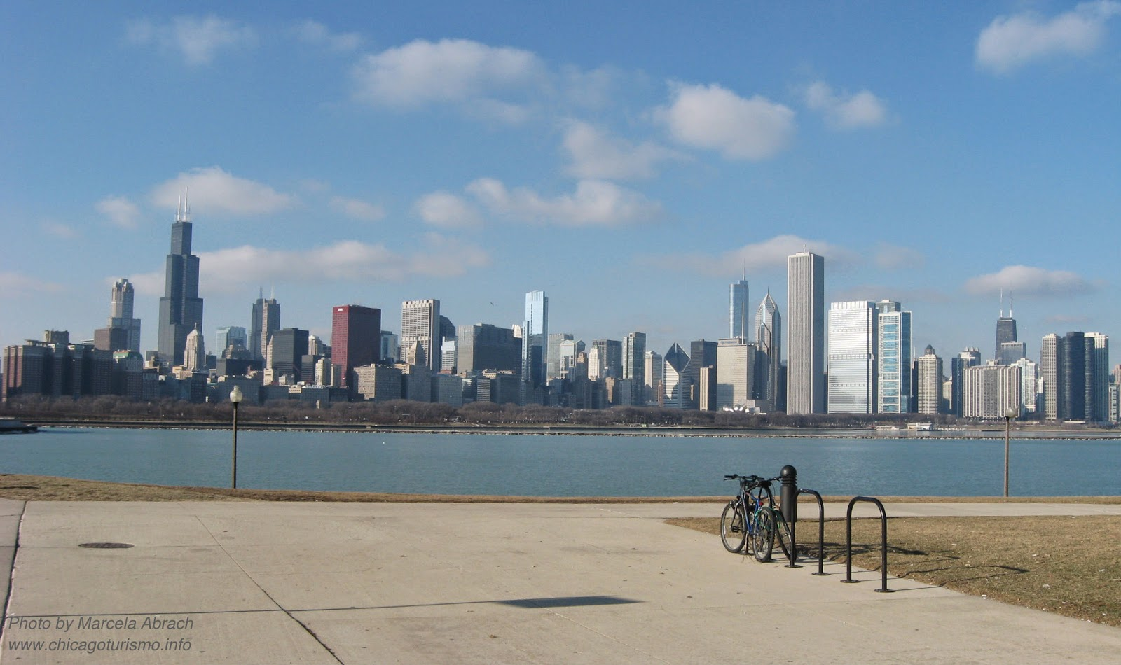 Vista de Chicago desde Museum Campus