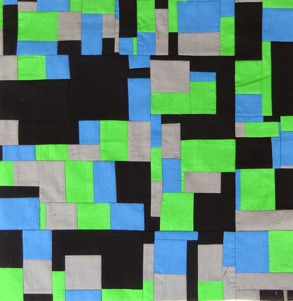 multicolor patchwork, modern patchwork, textile art, patchwork art, abstract textiles,