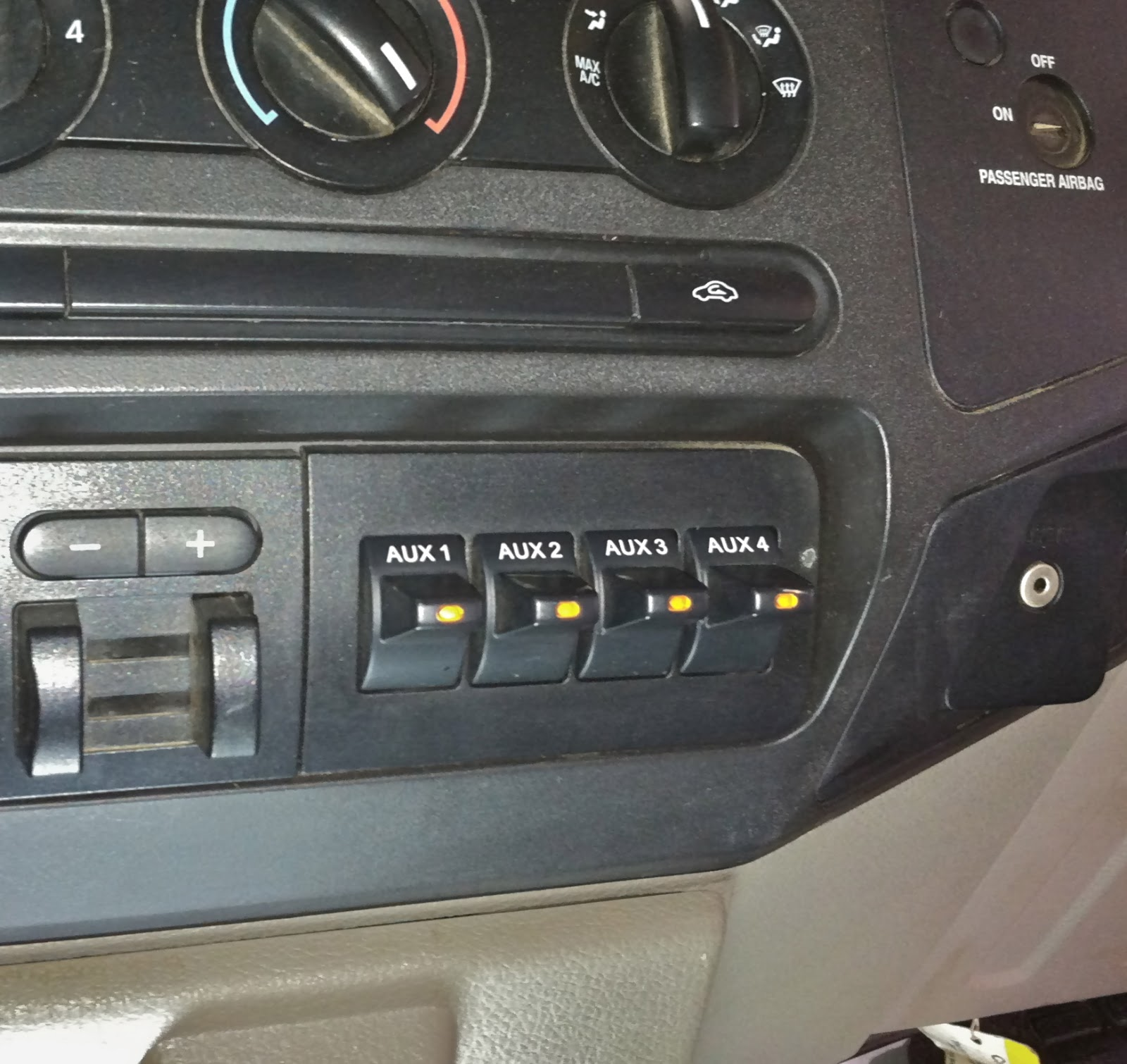 car audio tips tricks and how to's ford f series super duty trucks Drag Car Switch Panel at Car Audio Switches