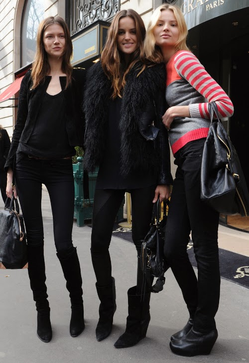 streetstyle, models of-duty, models style, styl modelek, modelki, w stylu modelek