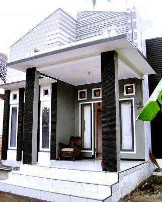 gambar desain teras rumah sederhana minimalis dan modern
