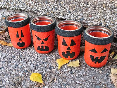 lanterne homemade DIY halloween
