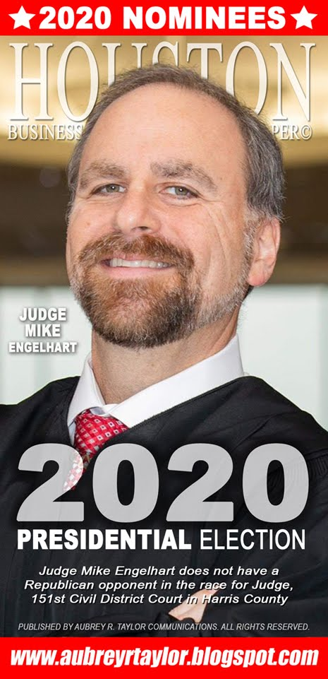 Judge Mike Engelhart Values Your Vote, Prayers, and Support on Tuesday, November 3, 2020