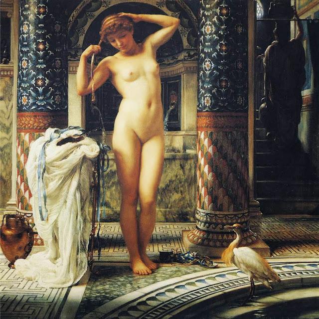 Edward Poynter, Venus, toilet of venus