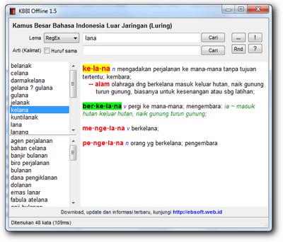 Kamus Besar Bahasa Indoensia Portabel