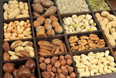 cashews, peanuts