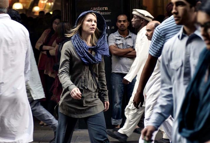 Claire Danes en Homeland