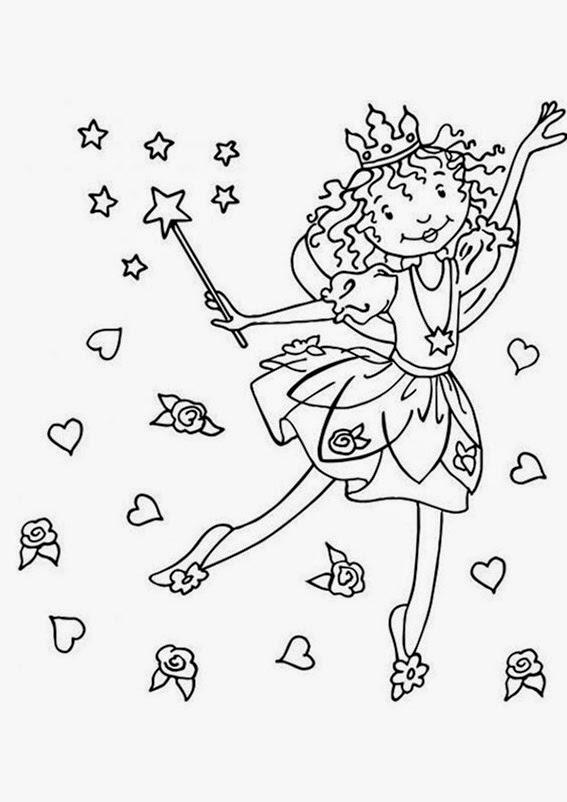 Ausmalbilder Prinzessin Lillifee Bilder Zum Ausmalen