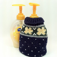 Dress up your liquid soap bottle
