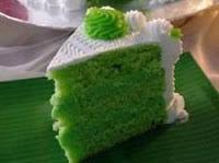 Resep Cara Membuat Cake Pandan Vla Pandan Enak