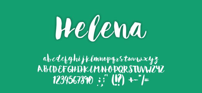 Kumpulan Font Undangan - Helena Font