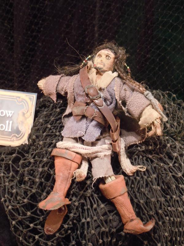 Jack Sparrow voodoo doll prop