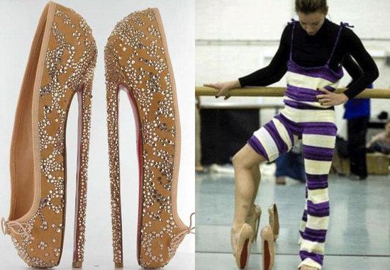 christian louboutin ballet heels