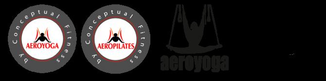 Centro Oficiales de Aeroyoga y Aeropilates deben tener estos logos