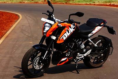2012 KTM Duke 200 Price India