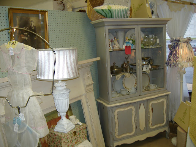 Paris Grey French Hutch