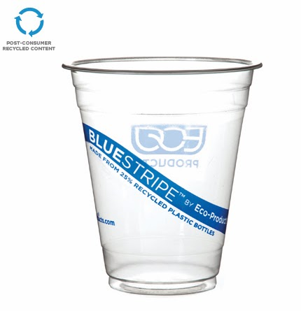 BlueStripe Cold Cup by Eco-Products