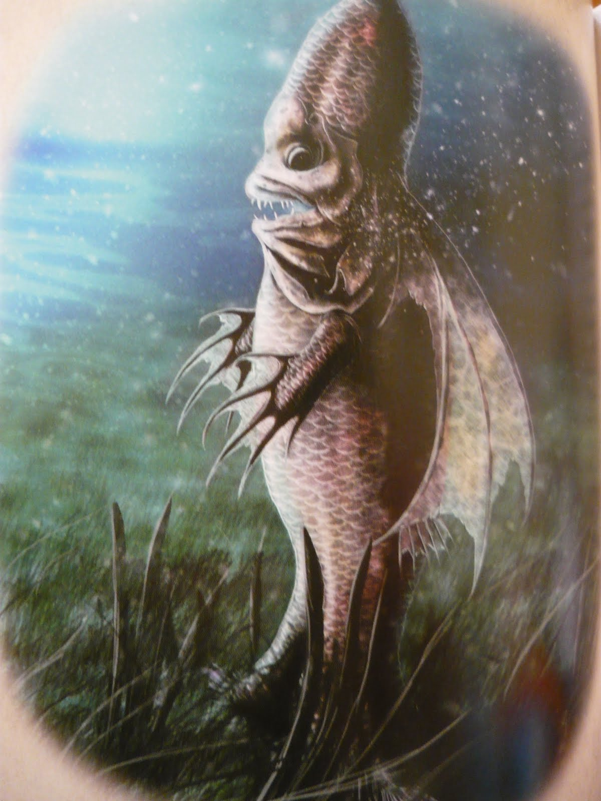 Magical gains the bishop fish fact or weird fiction for Fish in the bible