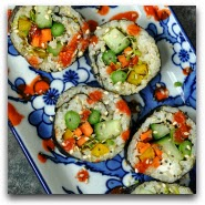 Homemade Vegan Sushi