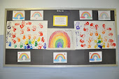 Handprint Rainbow Display!!!