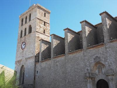 Santa Maria d'Eivissa Ibiza Old Town Cathedral