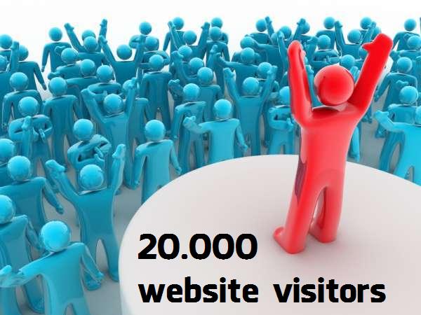 Buy 20000 Website Visitors Traffic