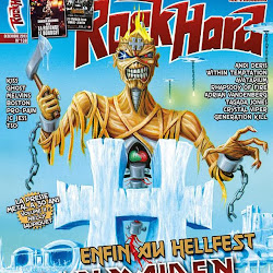 Iron Maiden: capa da revista ROCK HARD FRANCE 138