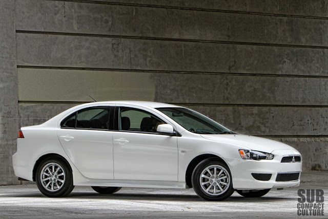 "Mitsubishi Lancer SE review ""all wheel drive"" AWD AWC"