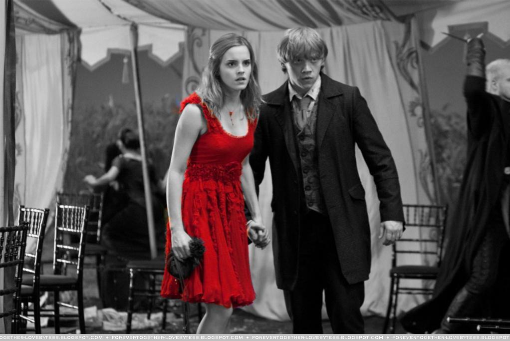 Forever in love by tess my fan art ron hermione - Harry potter hermione granger ron weasley ...