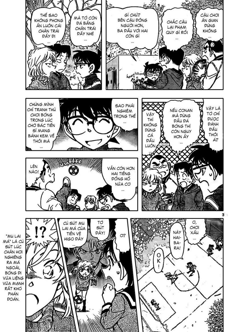 Detective Conan - Thám Tử Lừng Danh Conan chap 841 page 5 - IZTruyenTranh.com