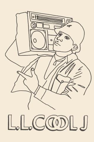 Miles Donovan | Blog: Licensed to Fill-The Hip-Hop Colouring Book