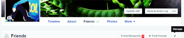 Cara Menyembunyikan Daftar Teman Facebook