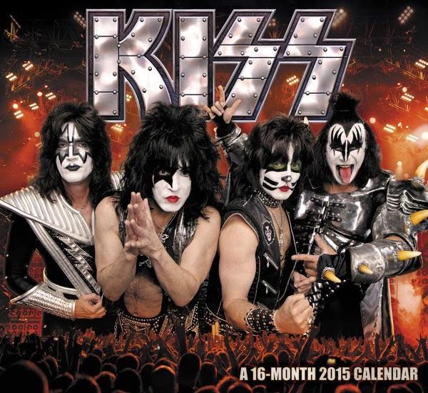 Calendario 2015 Grupo KISS