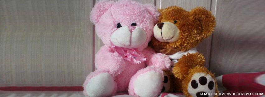 My India FB Covers: Teddy bears - Cute FB Cover