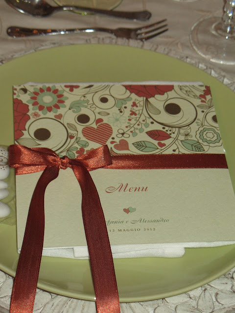Libretto Messa Matrimonio Country Chic : Yes wedding mise en place country chic