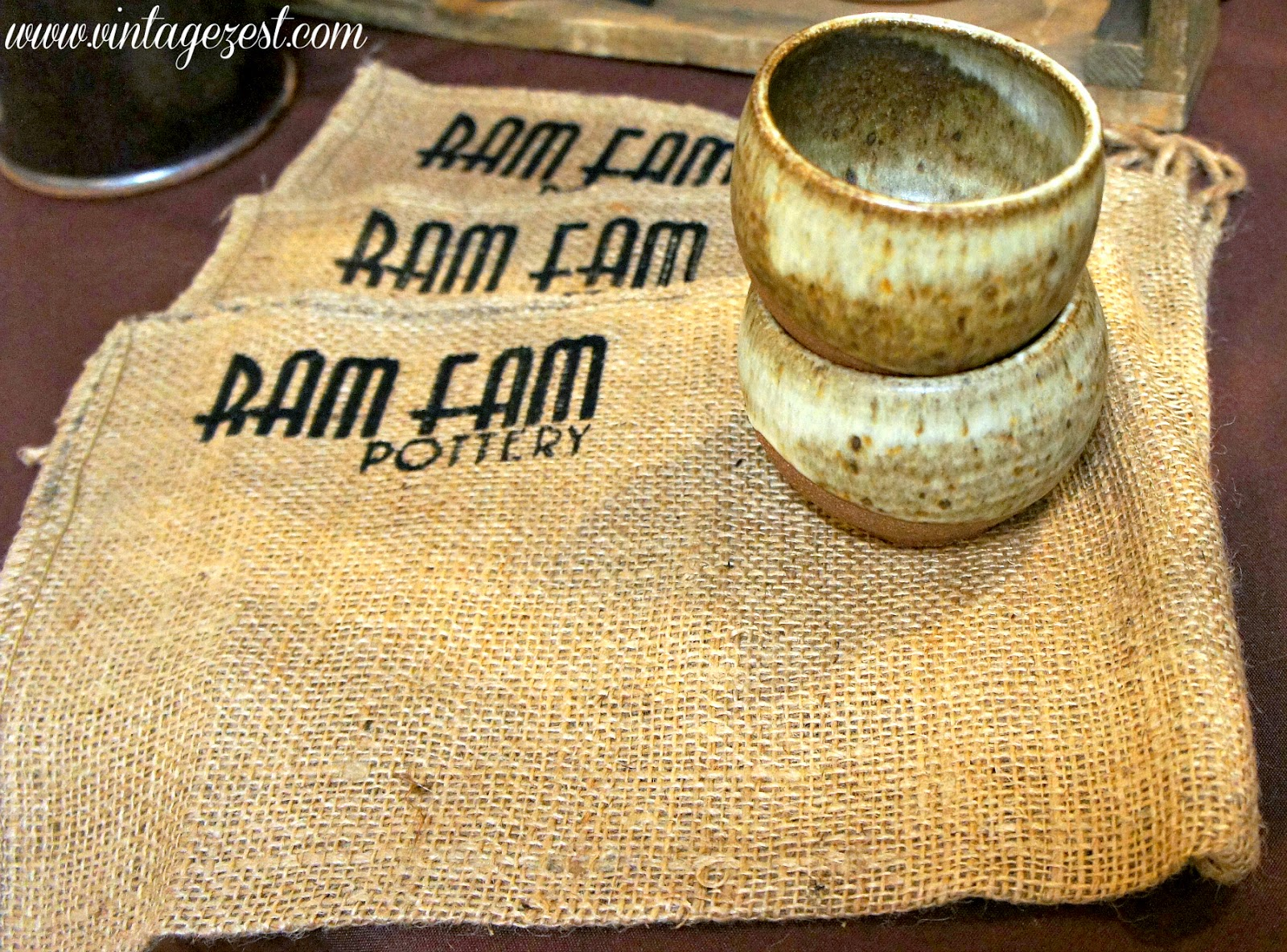 Ram Fam Pottery feature and Giveaway on Shop Small Saturday Showcase at  Diane's Vintage Zest!