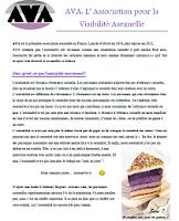 dossier de presse sur l'asexualité par AVA