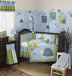 """TURTLE REEF"" BEDDING"