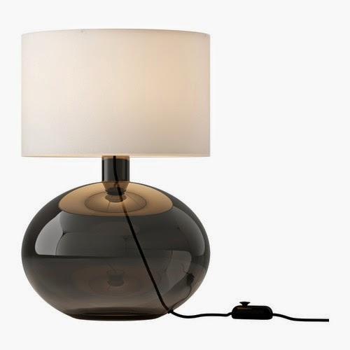 lampara de mesa con pantalla ikea