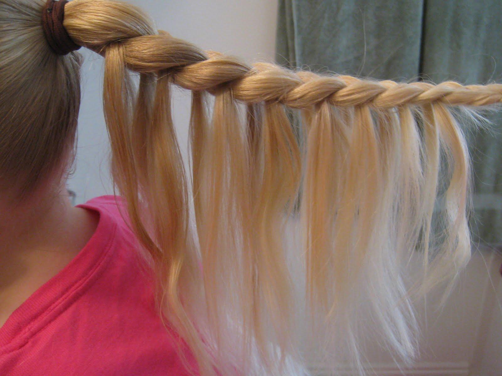 Прически с резинками для волос для девочек фото