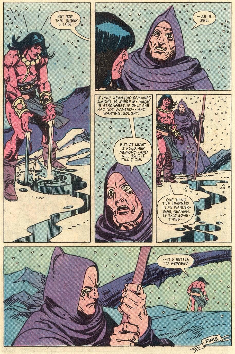 Conan the Barbarian (1970) Issue #127 #139 - English 21