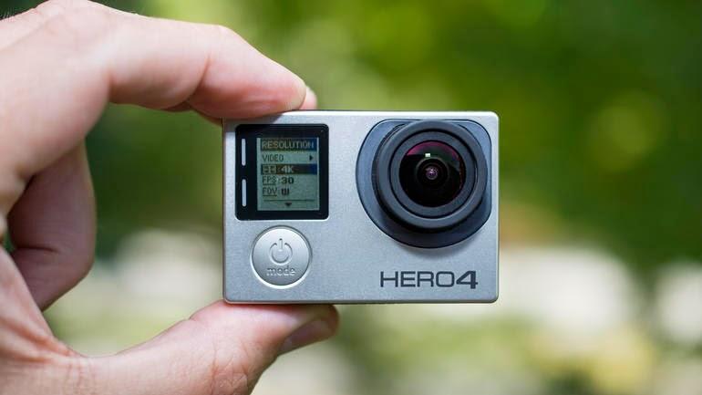 GoPro para filmagem aérea
