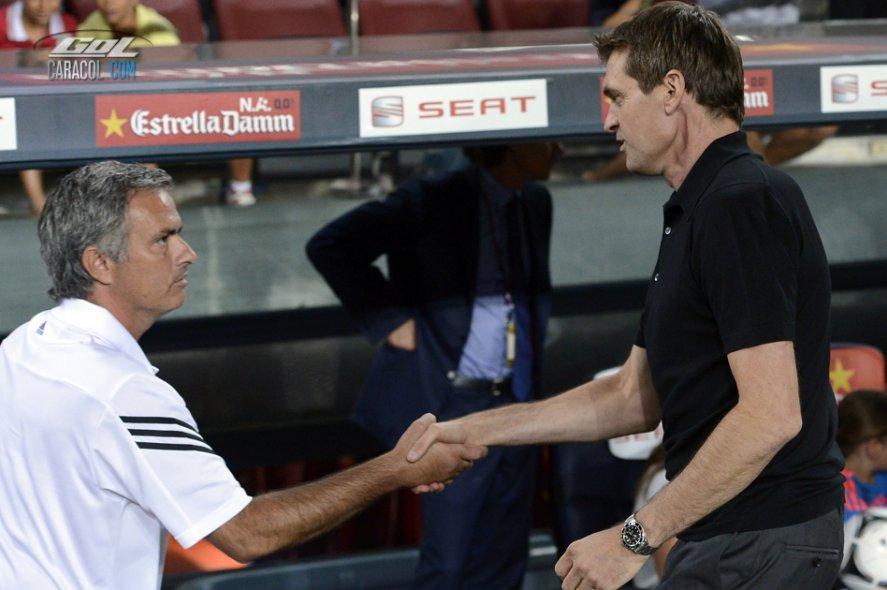 Mourinho y Tito hicieron las paces