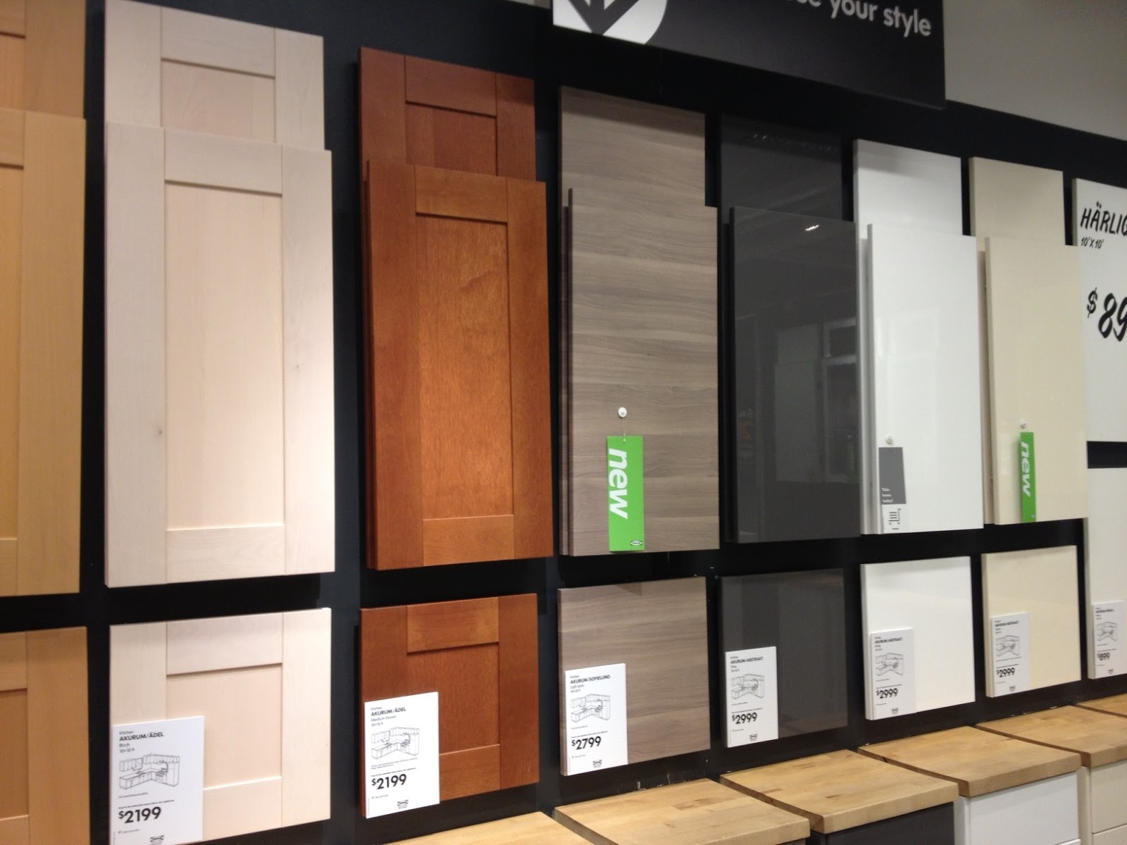 Life And Architecture IKEA Kitchen Cabinets The 2013 Door Lineup