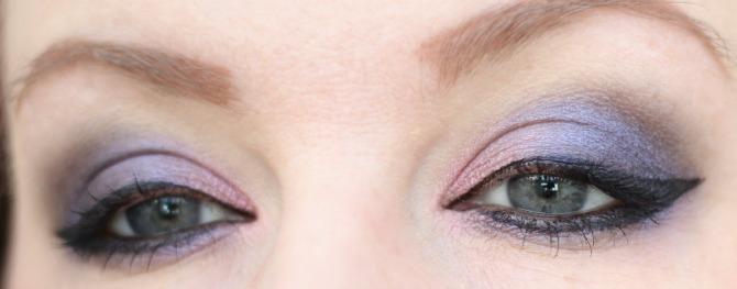 Purple eyes slight angle